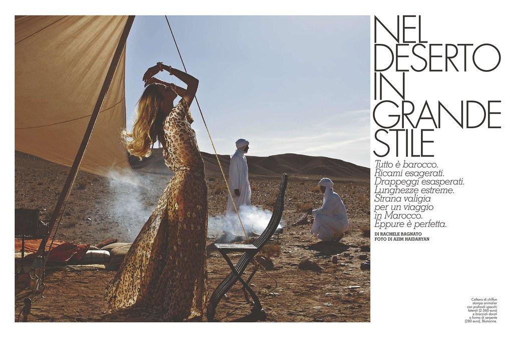 Nel Deserto In Grande Stile
