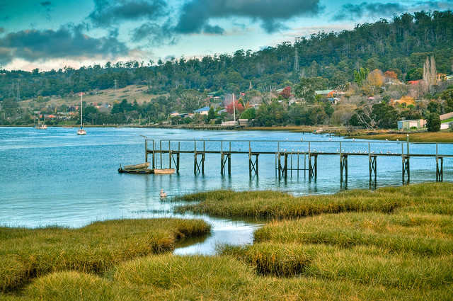 Jetty on the Tamar River