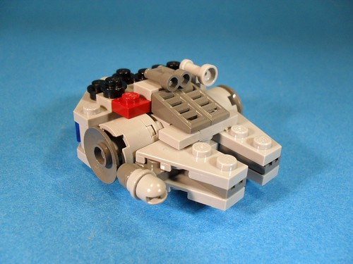 Micro Millennium Falcon Right