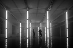 _MG_0764 (Playmodes Interactive Audiovisuals) Tags: playmodes studio light lightart led leds mira festival barcelona fabra coats 2016 colors installation openframeworks madmapper