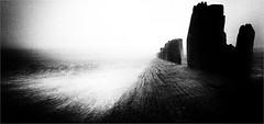 THE ANGRY SEA (Blues Boy.) Tags: uk sussex bw groyne sea seascape