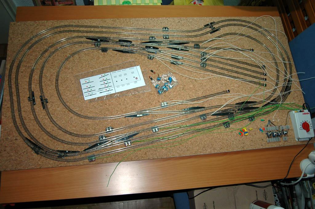 Mi circuito de pruebas pemanente... 120x60cm 3666973915_5fc9ab0892_o
