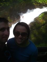 at Sol Duc Falls