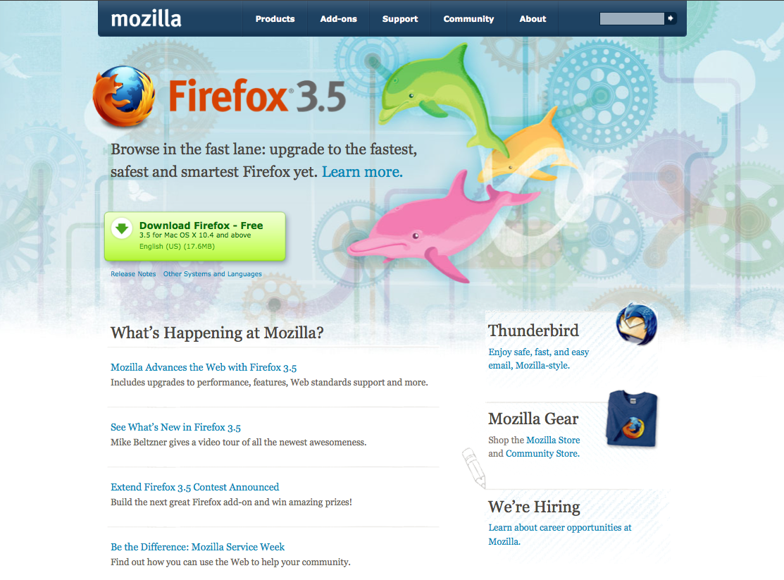 Firefox 3.5 is Here!