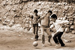 Play (Moein Mn) Tags: game sport sepia ball children fun persian football play iran soccer persia explore mazandaran iranian semnan vilage  moein        lerd   khatirkooh   moeinmohammadnejad