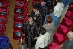 The Procession (GirlOnAMission) Tags: amber graduation ceremony may 2009