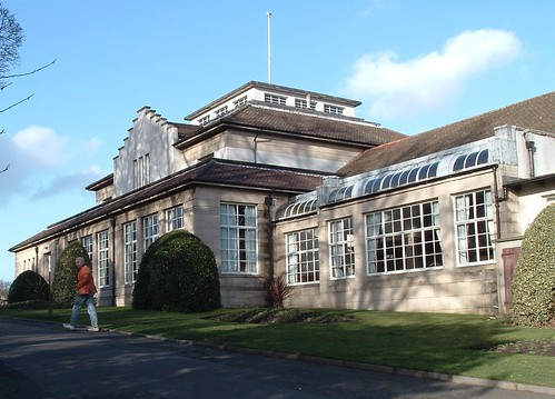 Glen Pavilion, Dunfermline, From West