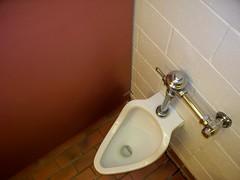1950s urinal (jasonwoodhead23) Tags: sanitary piping montana chrome plumbing urinal
