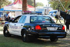 DOWNEY POLICE DEPARTMENT (Navymailman) Tags: show lake ford car losangeles san view terrace dam air police victoria airshow american valley hero fernando vic crown law heroes enforcement lakeview hansen 2009 department cruiser downey lakeviewterrace hansendamsportscomplex
