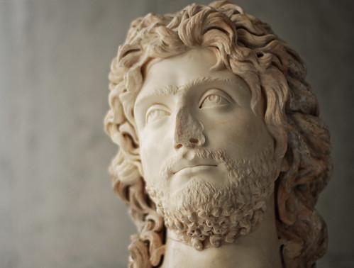 archaic acropolis - busts 2