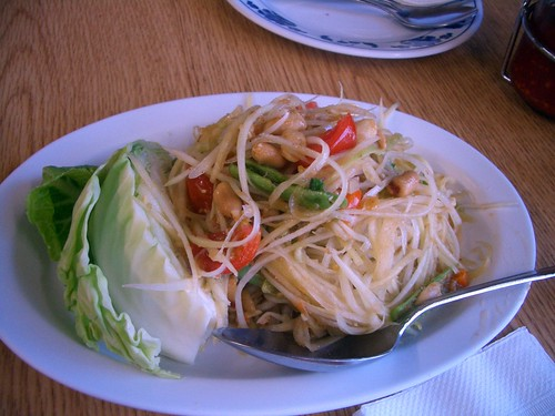 Sapp papaya salad