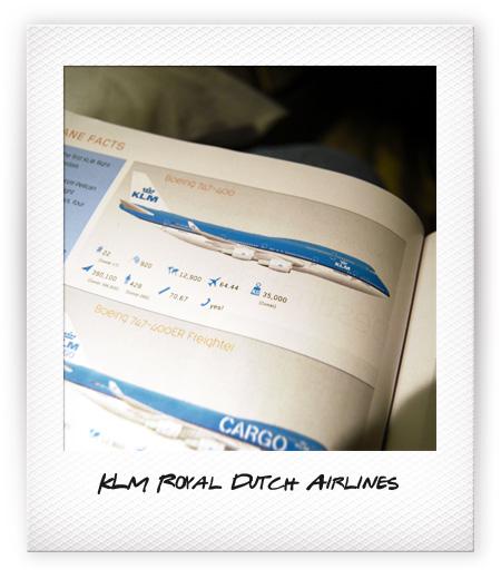 Retour de Hong Kong avec KLM