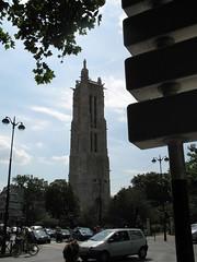 Paris (Jon Barbour) Tags: paris church la europe tour saintjacques europeantravel herethereandeverywhere latoursaintjacques worldwidewandering wetraveltheworld perspectivacentral myglance blipfree