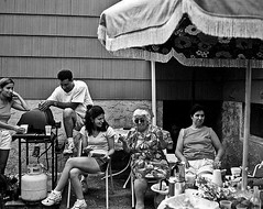 Mamma-Mia! (Sam Char) Tags: portrait bw film documentary konica hexaraf 35mmf2hexar