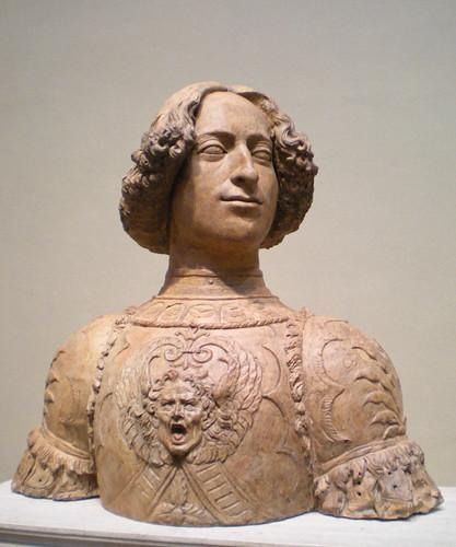 Giuliano de' Medici portrait bust