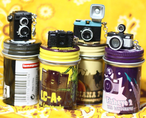 ロモのミニチュアカメラ