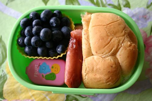 Preschool Bento #218: July 23, 2009