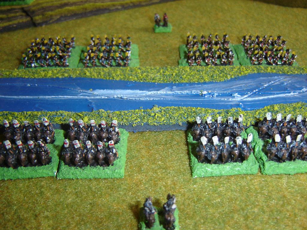 Matsuda cavalry threaten Kuroda Ashigaru