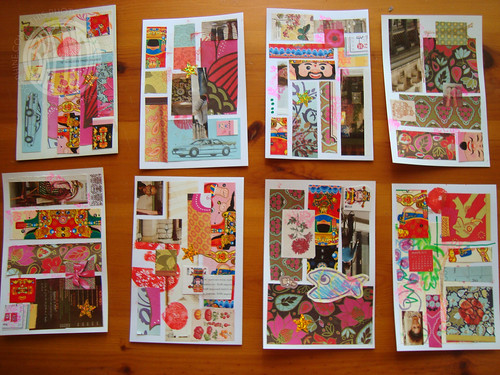 batch of postcards
