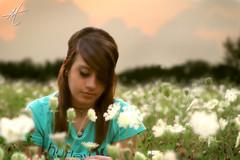 Christina (Aaron Joel McKee) Tags: flowers ohio mckee girl field composite canon warm d aaron 50 tone canton seniorpictures warmtone cantonohio canon50d aaronmckee