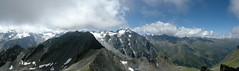 Panorama Schafgrubler (Mono Andes) Tags: panorama alps clouds alpes trekking austria backpacking 2009 fotocumbre ruhegebietstubaieralpen
