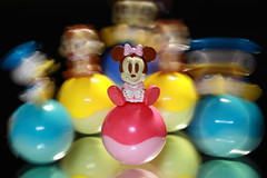 Swing Characters ( Spice (^_^)) Tags: pink blue light black color macro art yellow japan canon reflections dark geotagged asian photography eos miniature photo interesting movement asia flickr image photos wordpress creative picture vivid blogger disney livejournal explore photograph mickeymouse  safe portfolio minniemouse vox donaldduck  gettyimages facebook  friendster multiply  chipndale   twitter mywinners canoneos50d aplusphoto     2009
