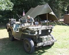 MILITARY ODYSSEY 2009 (John & Matt's) Tags: show usa army jeep ww2 gi willys detling