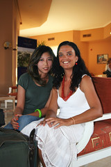 Adele and Eva (Adele Liu) Tags: summer vacation resort egitto  clubmed watersport elgouna  villaggio   egypet