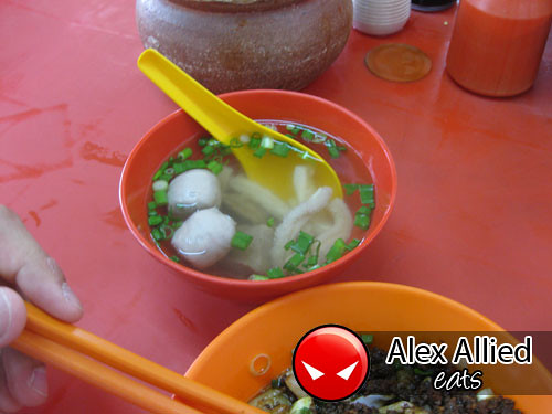 Beef Soup with Meat ball and mixed beef products