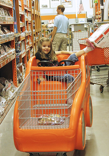Home Depot carts rule.