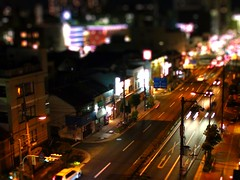 Town Lights in miniature