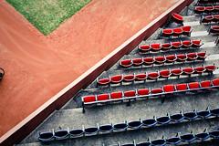 boston fenway park (powlowski) Tags: blue red usa green rot lines sport boston graphic baseball stadium sox perspective redsox seats grn fenway blau wally fenwaypark yankees greenmonster ballpark bostonredsox sthle newyorkyankees mlb composed grafisch 30mm linien sigma30mmf14 oritz