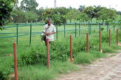 DSC_0155 (jit bag) Tags: people india man green person delhi gandhi dilli rajghat राजघाट