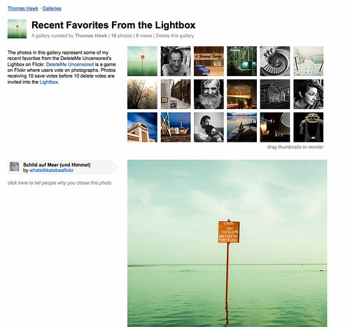 Flickr Launches Galleries