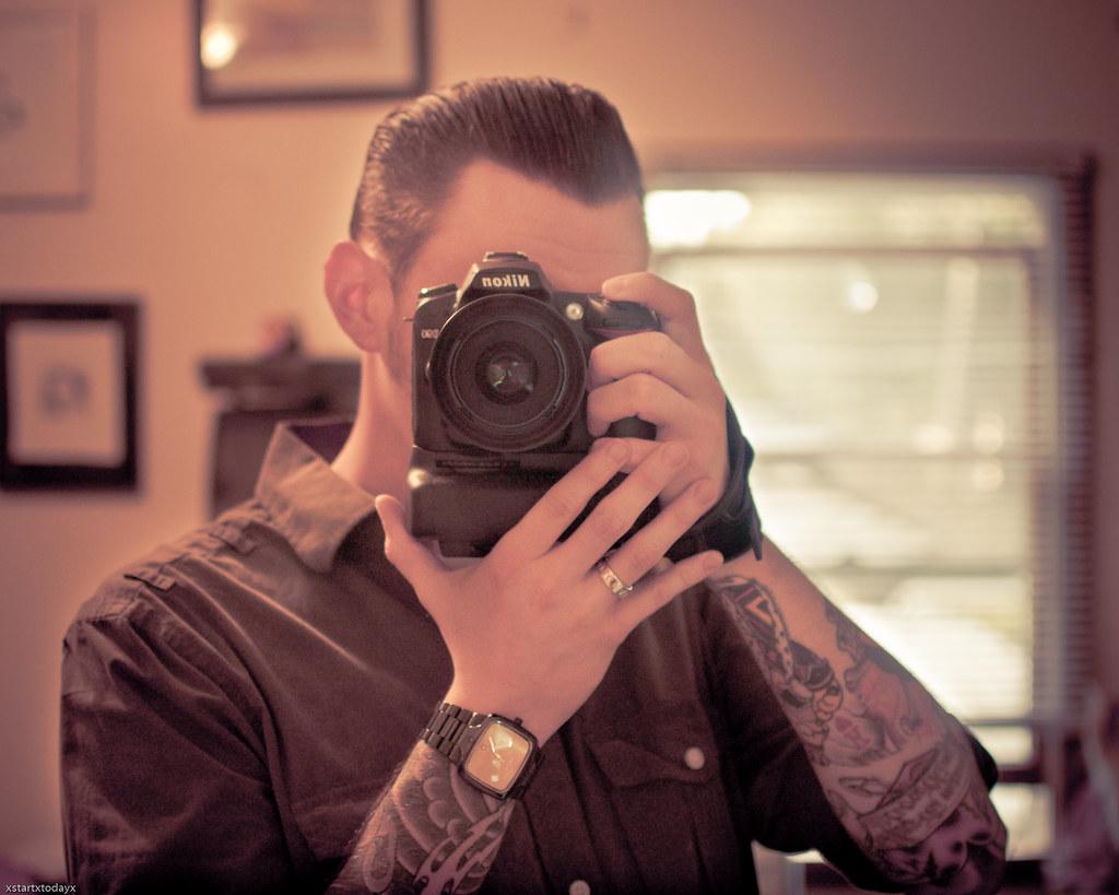 Self Portrait + Lightroom preset