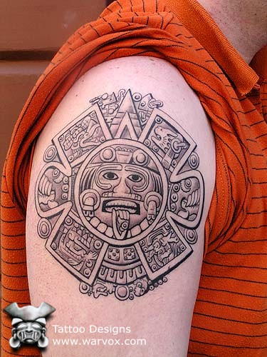 Mexican Tattoo Art Design