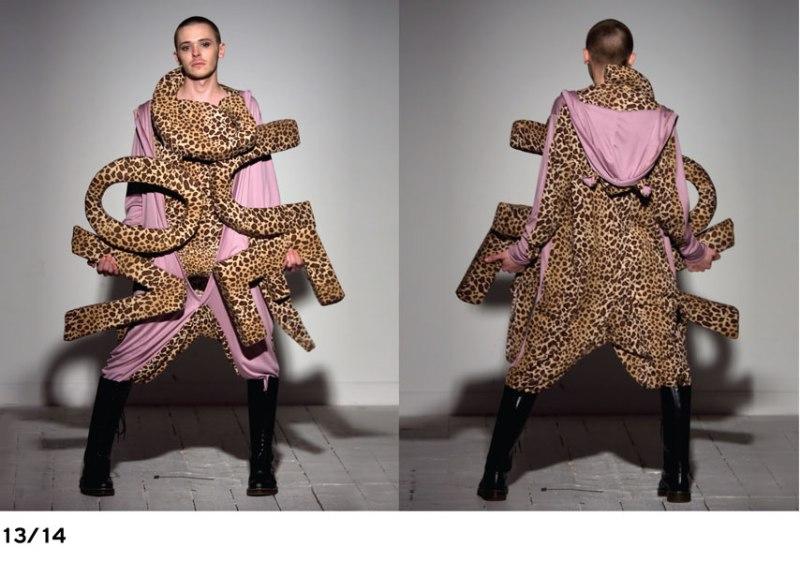 Ziad Ghanem Fall 2009 leopard Vogue overall