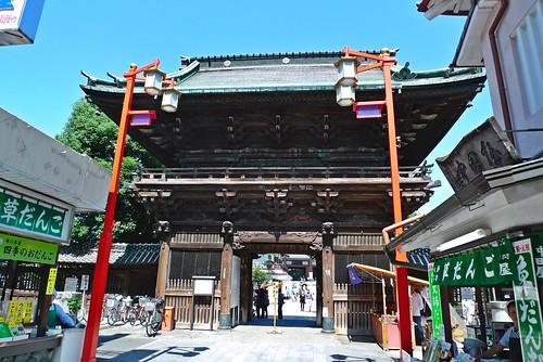 Nishiarai Taishi Main Gate