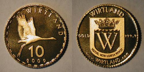 Wirtland 2009 Gold Crane