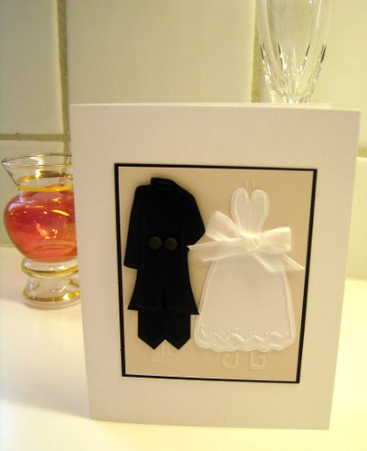 I Thee Wed Card by Cath Edvalson