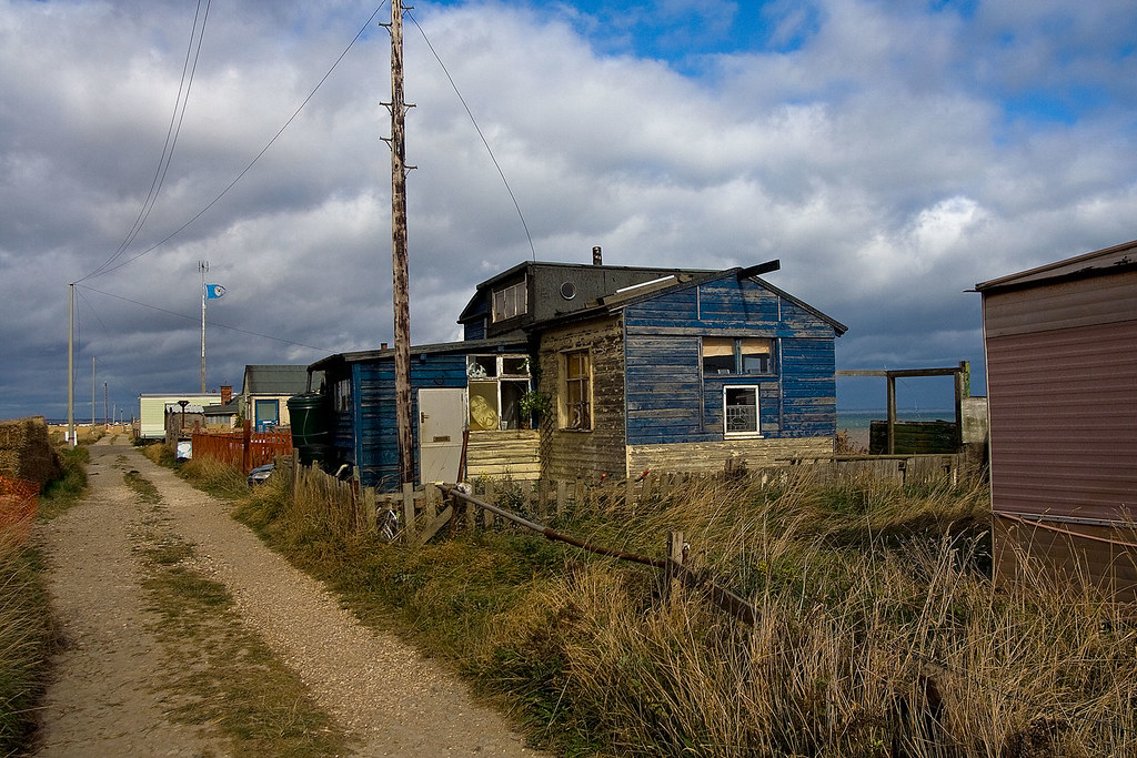 skipsea beach shacks
