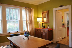 Dining room (Libby's World) Tags: house northcarolina craftsman bungalow goldsboro houseforsale sjafb seymourjohnsonairforcebase