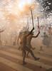 Correfoc nudista (Josep M Martí) Tags: del ball catalunya festa 2009 correfoc festes penedès llorenç foc tradicions nudista diables populars diablesllorenç2009