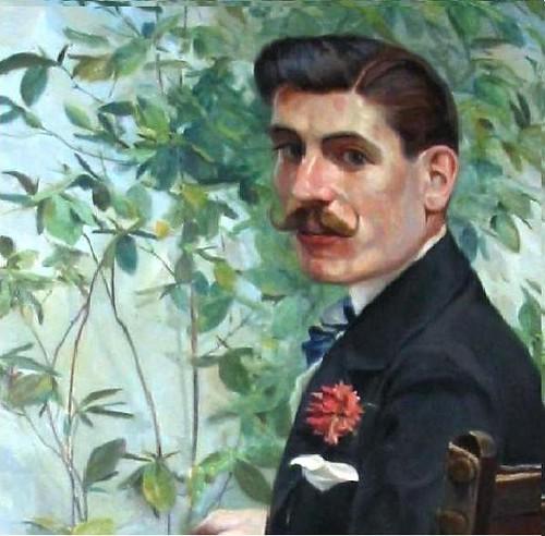 Emilio Bueno Galán, político liberal toledano. Retrato de Joaquín Martínez Lumbreras en 1907