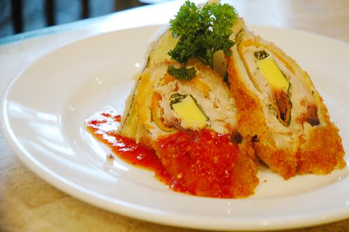 Fish Roulade w/ Garlic