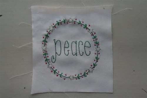 Christmas Wish Block 5 - Peace