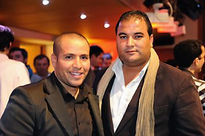 Brahim Abbou et Kamel Chibli