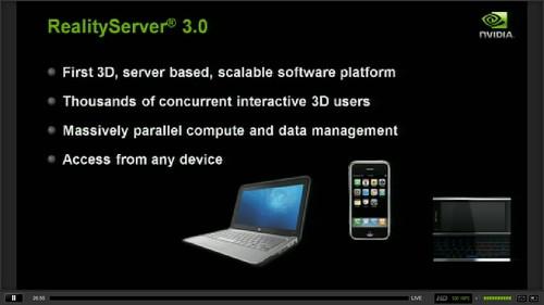 NVIDIA RealityServer