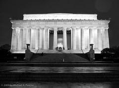 Lincoln Memorial (Michael Pancier Photography) Tags: autumn fall washingtondc capital cities lincolnmemorial monuments seor floridaphotographer michaelpancier michaelpancierphotography landscapephotographer fall2009 wwwmichaelpancierphotographycom seorcohiba