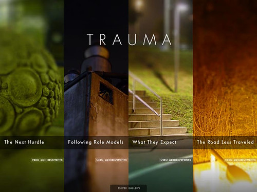 TRAUMA: Title Screen